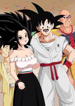 Dr. Goku celebrando 15 de Septiembre