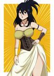 Nana Shimura - Medieval outfit