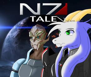 N7Tale - Mass Effect/Undertale (kinda) Mashup AU by LucarioFreeman1