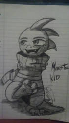 Monster Kid!!! by LucarioFreeman1