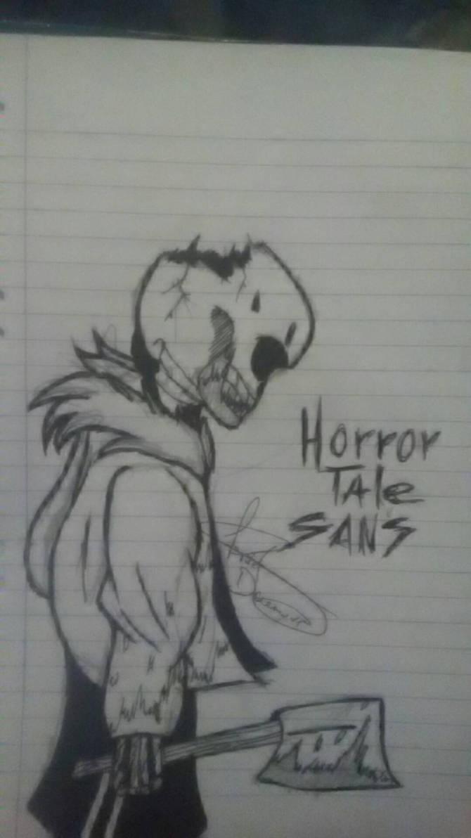 The Horror is just beginning - Horrortale Sans by LucarioFreeman1