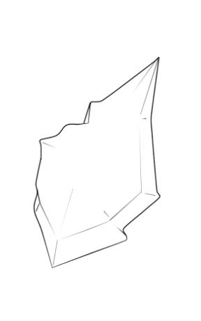 Determination Stone (Uncoloured) - Combat Tale by LucarioFreeman1