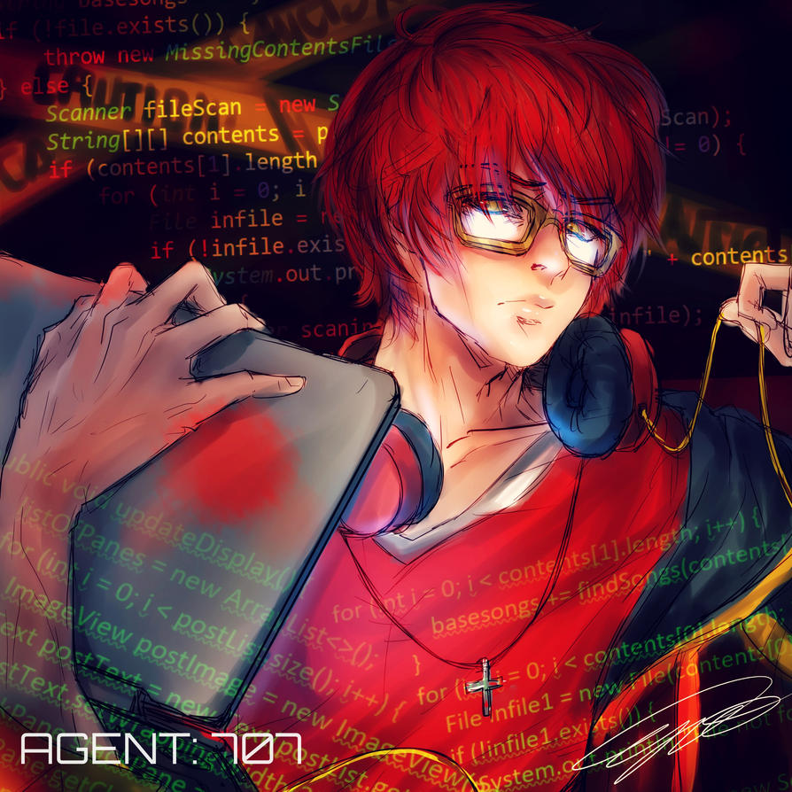 AGENT: 707 by CrymsonFire