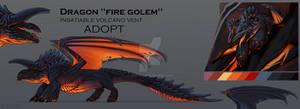 Adopt Fire Golem