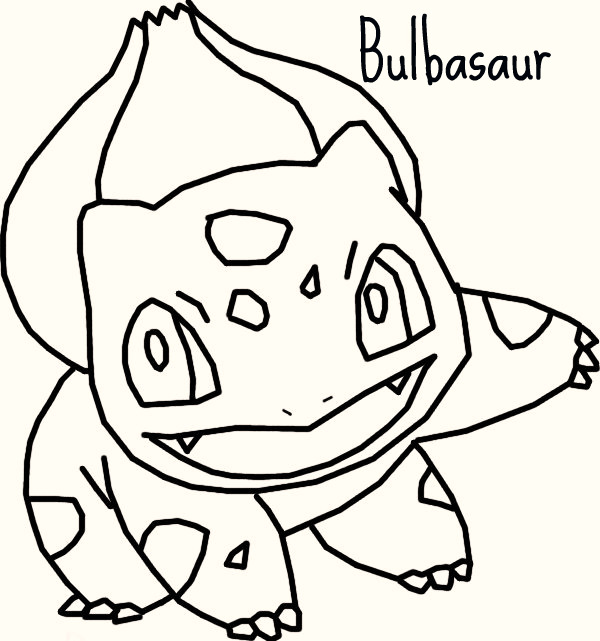 Pokemon Bulbasaur Coloring Pages Images Pokemon Images Bulbasaur Coloring Page