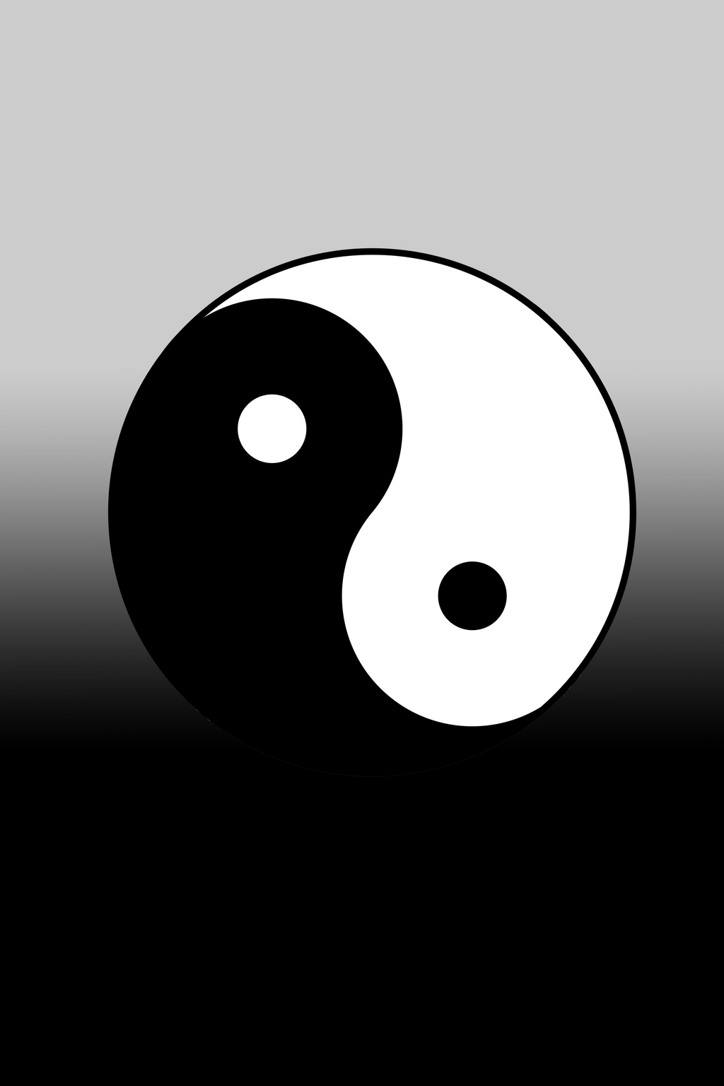 Yinyang iPhone Wallpaper by XeVewi on DeviantArt