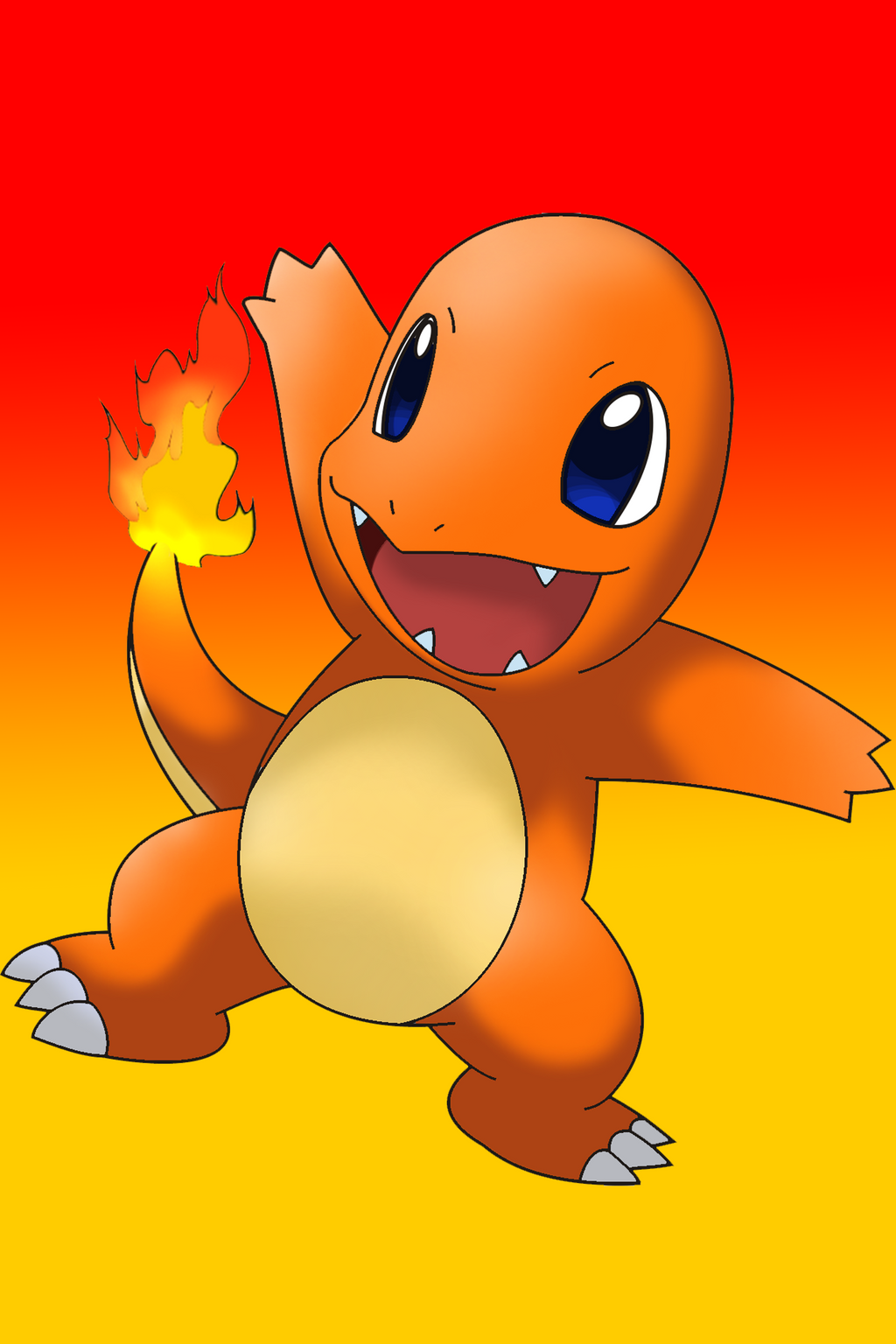 charmander iphone wallpaper by xevewi on deviantart