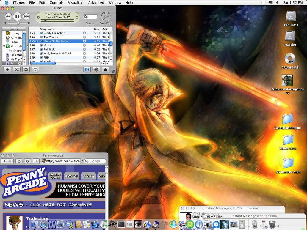 Zanne's Desktop.  Wooooo....