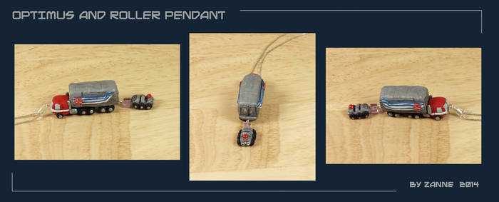 TF: Optimus and Roller Pendant