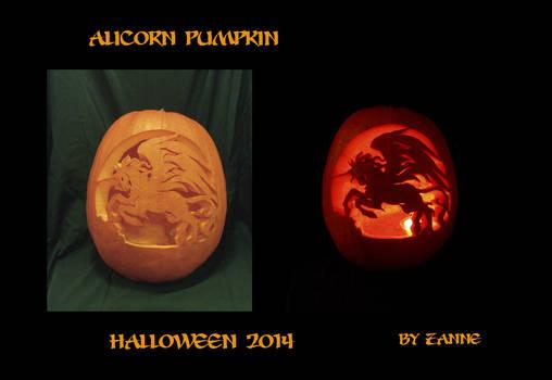 Alicorn Pumpkin 2014