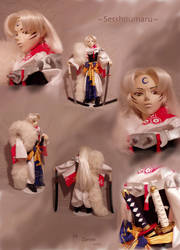 The Ultimate Sesshoumaru Doll by Zanne