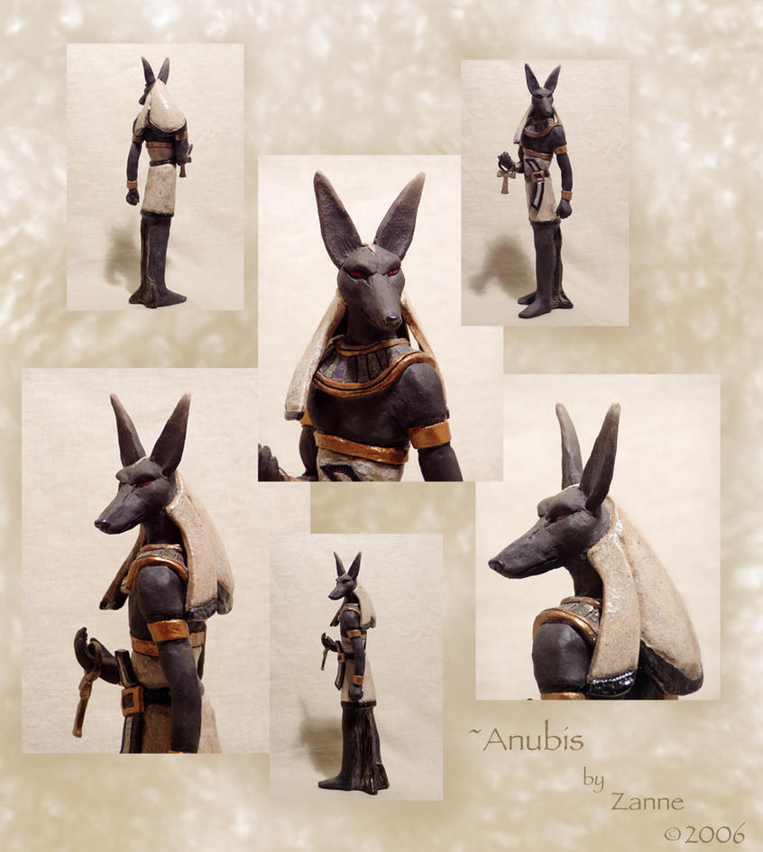 Ceramics: Anubis by Zanne