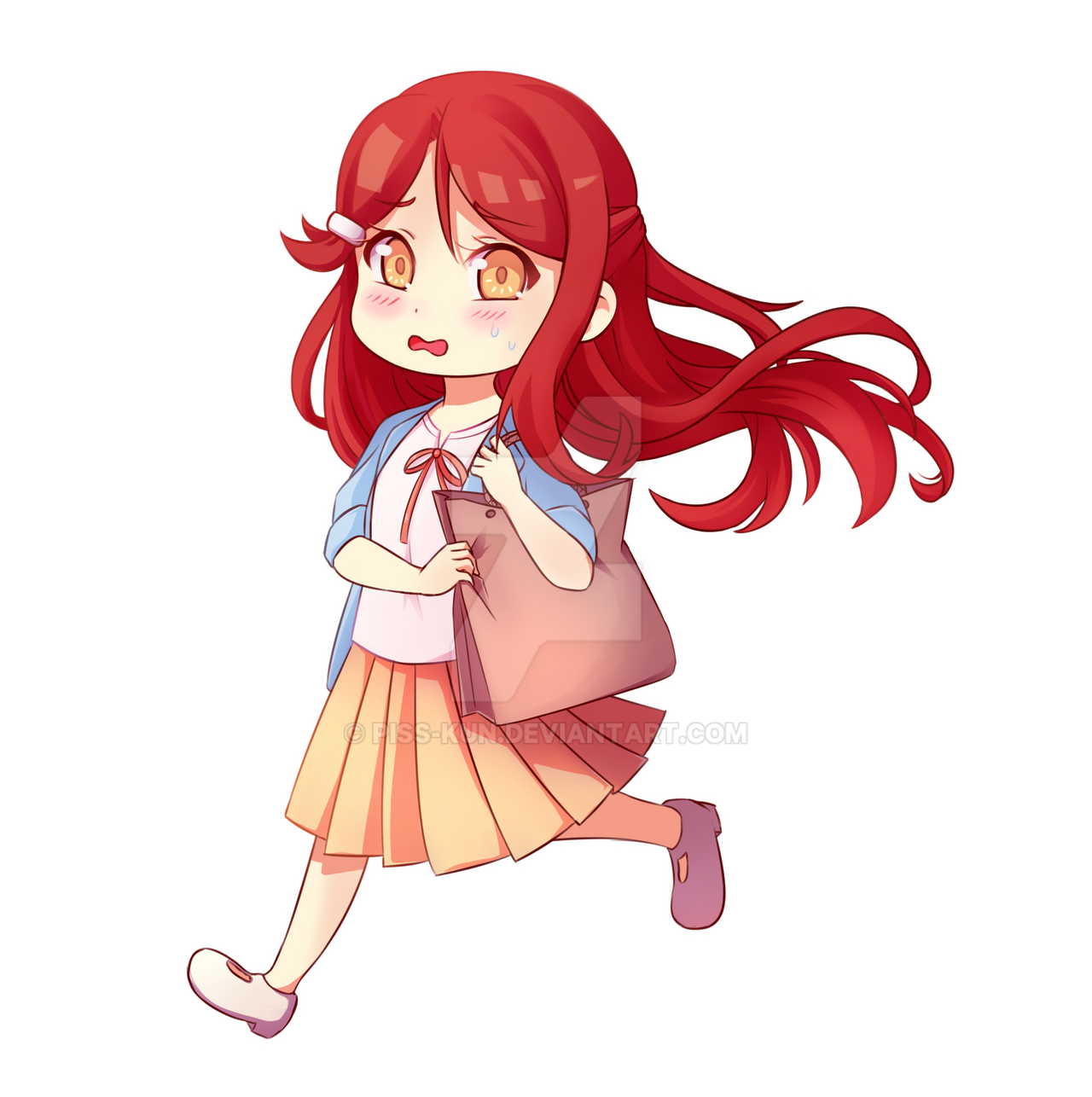 What is in the bag, Riko-chan? by Piss-kun