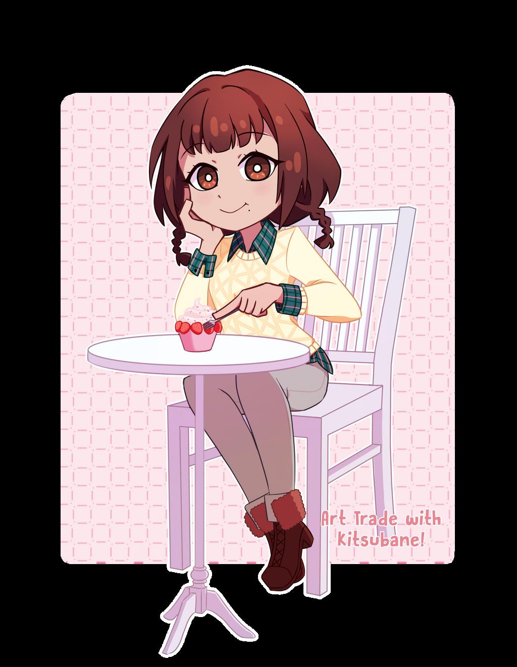 [Art Trade] Strawberries! by Piss-kun