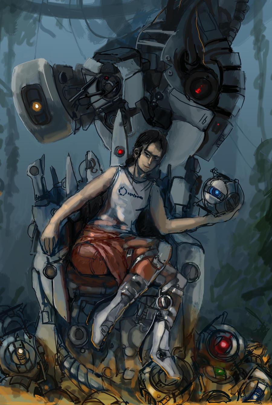 Portal 2 by bloodrizer