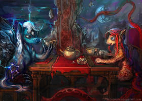 Outer Worlds Teaparty