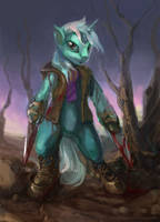 Steel Storm Lyra by bloodrizer
