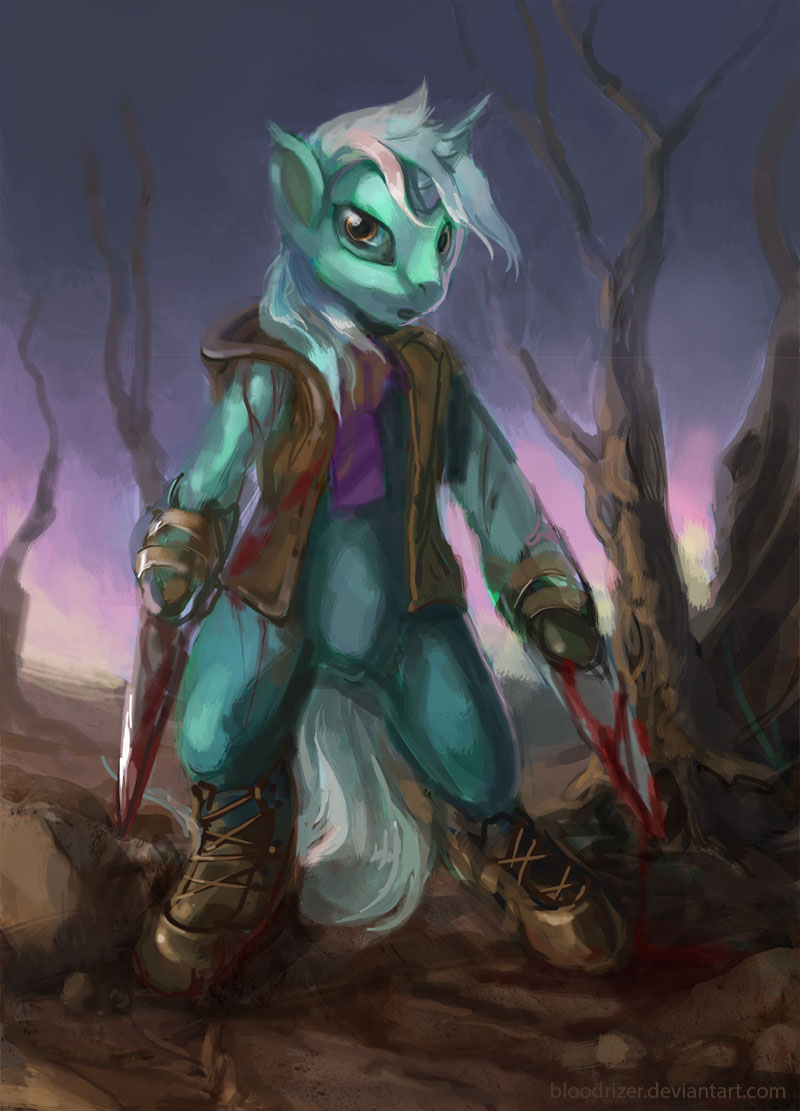 Steel Storm Lyra by bloodrizer