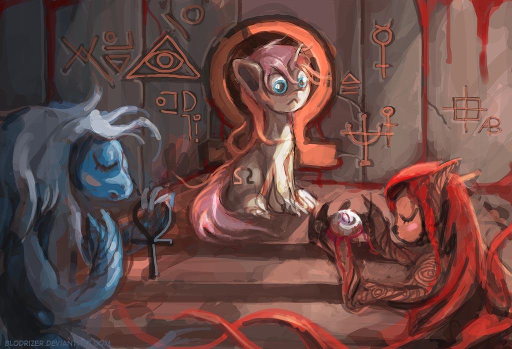 Omega Unicorn by bloodrizer