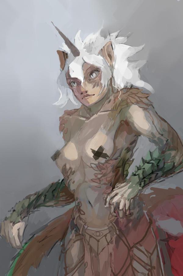 Panthercorn by bloodrizer