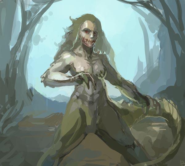 Monster Hunter challenge - deviljho by bloodrizer