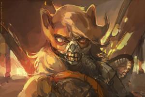 Immortan Jack by bloodrizer