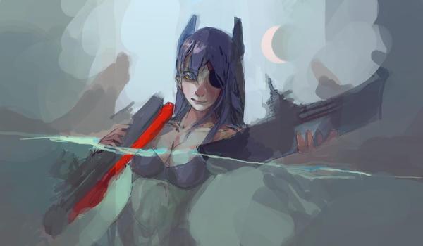 Tenruu (sketch) by bloodrizer