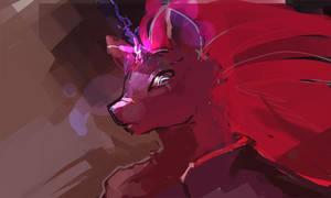 Horse Waifu by bloodrizer