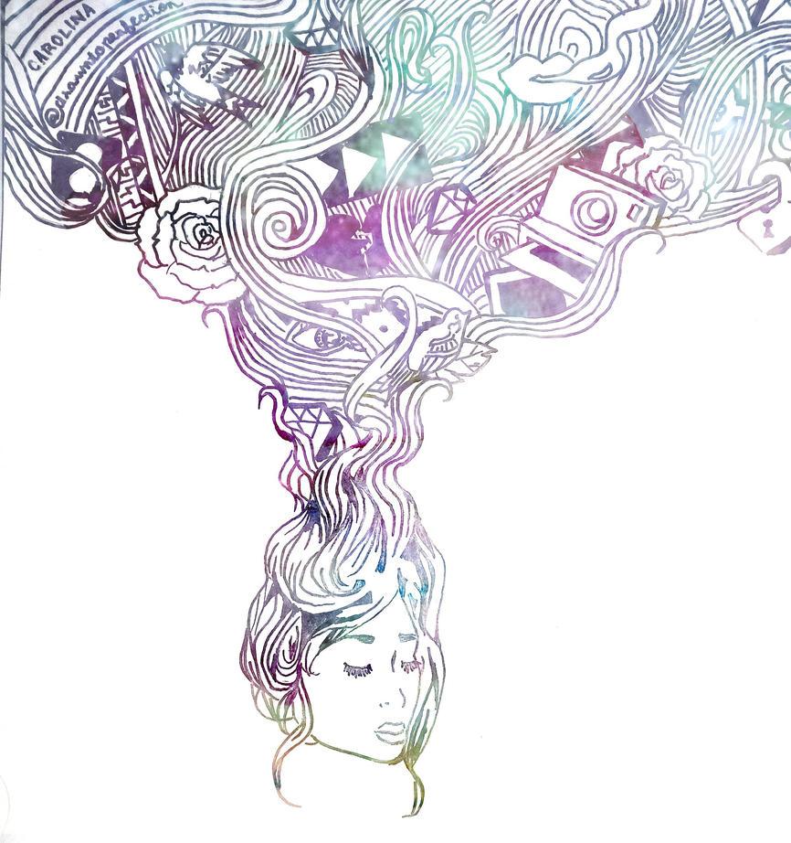 overthinking tumblr drawings