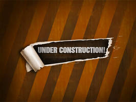 PSD  Construction Page by FreeBackgroundWeb