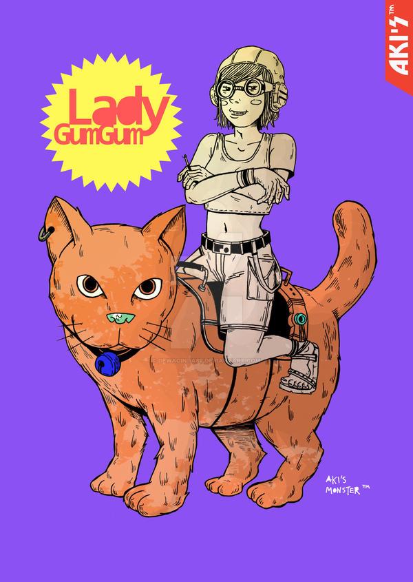 Lady GumGum by dewacinta88