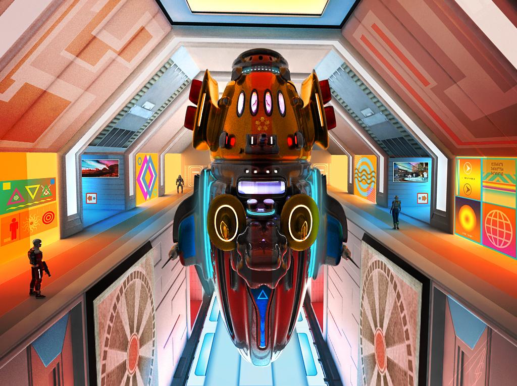 Positive Sci-fi by jedgraph
