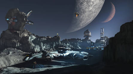 Moon station 06