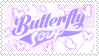 butterfly soup stamp by xalostocite