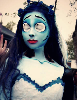 Emily The Corpse Bride detail by sarahredhead