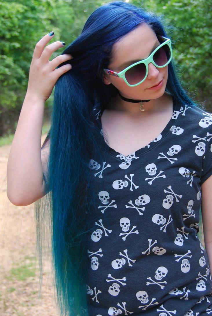 Ombre Hair by sarahredhead