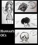 Hannah's OCs