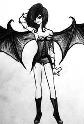 Raffaelle's true demon form... by MadRoseKai