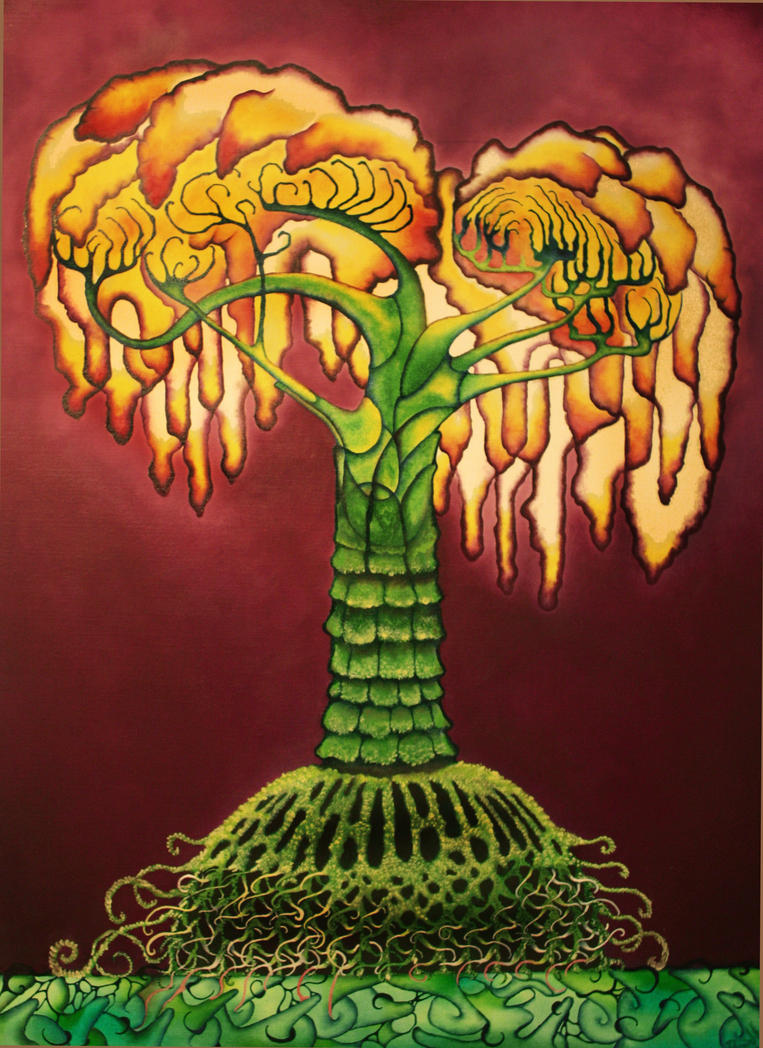 Arbol de fuego by bodypaintmexico on deviantart for Arbol de fuego jardin