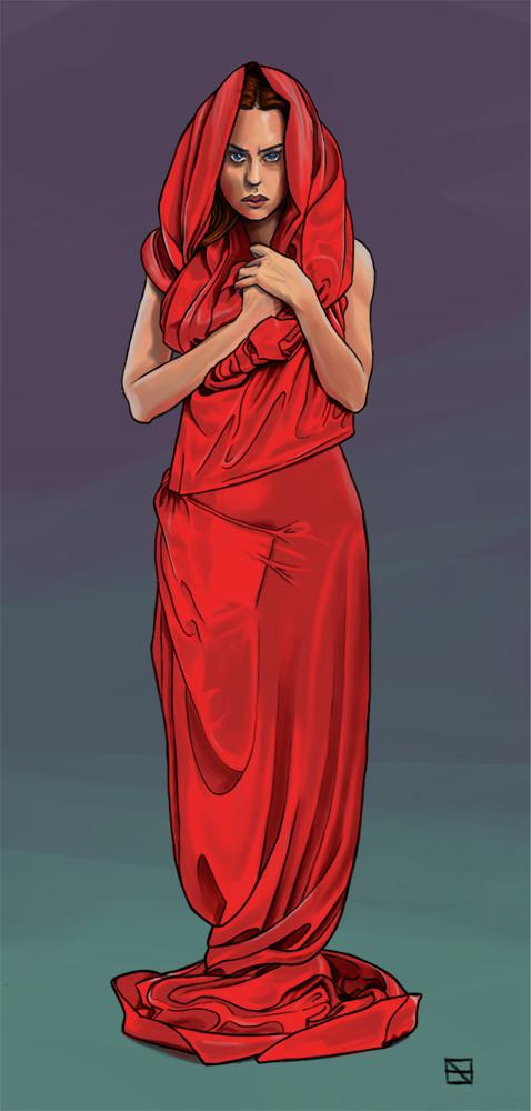 Caryatid by SentWest