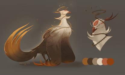 [Open] Bramble Phoenix Adopt by Charaky