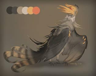 [Closed] Cockatiel Phoenix Adopt by Charaky
