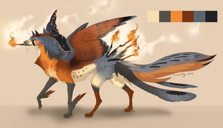 [Closed] Kestrel Gryphon Adopt by Charaky
