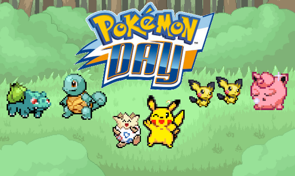 165. Pokemon Day by BeeWinter55