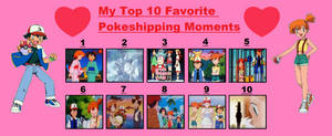 My Top 10 Favorite Pokeshipping Moments