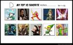 My Top 10 favorite Archers
