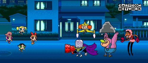 The True Powerpuff Girls vs Beat-Alls by BeeWinter55