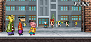 The Eds meet The Powerpuff Girls
