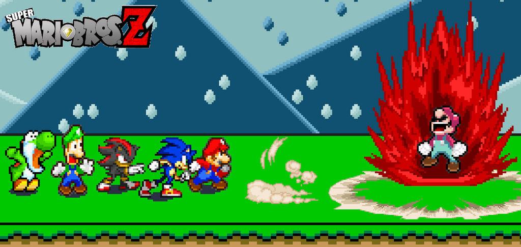 Team Smbz Encountering Devil Mario By Beewinter55 On Deviantart