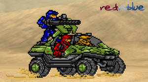 RvB traveling by BeeWinter55